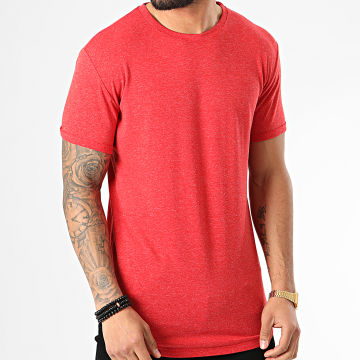 Tee Shirt Oversize 5352 Rouge Chiné