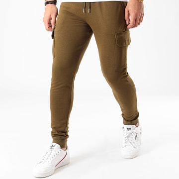 Pantalon Jogging BM1138 Vert Kaki