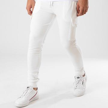 Pantalon Jogging BM1138 Ecru