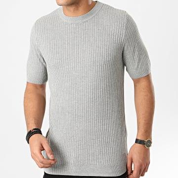 Frilivin - Tee Shirt FA3001 Gris Chiné