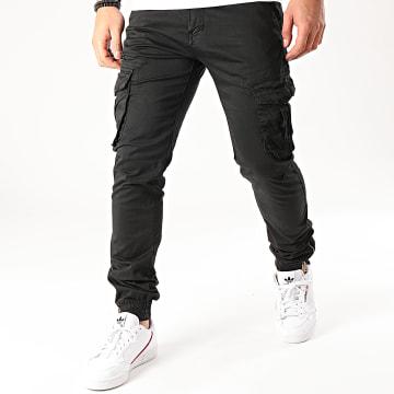 Pantalon Cargo 8703 Noir