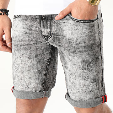 Short Slim JD-212 Gris