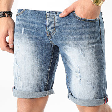 Short Jean JD-213 Bleu Denim
