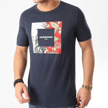 Tee Shirt Tropic Bleu Marine