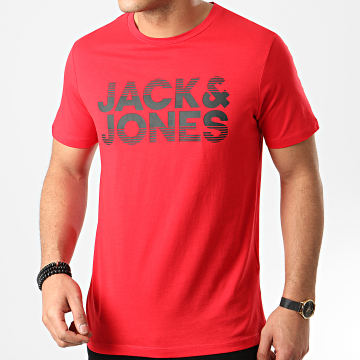 Jack And Jones - Tee Shirt Milla Rouge