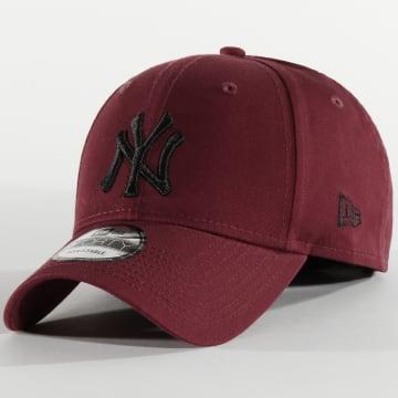 New Era - Casquette 9Forty League Essential 12285486 New York Yankees Bordeaux