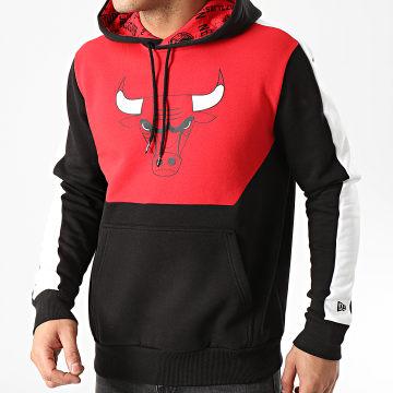 Sweat Capuche A Bandes Chicago Bulls Colorblock 1295397 Noir Rouge