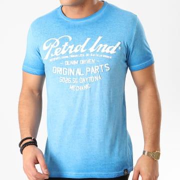Petrol Industries - Tee Shirt 604 Bleu Clair