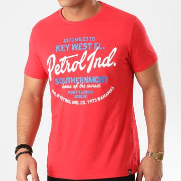 Petrol Industries - Tee Shirt 691 Rouge