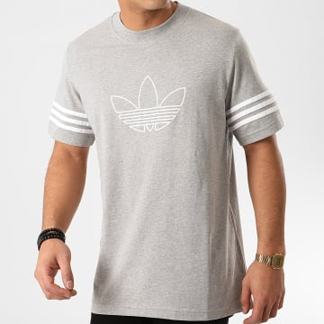 Tee Shirt Outline FM3895 Gris Chiné