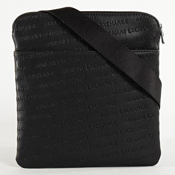 Armani Exchange - Sacoche Flat Messenger 952082 Noir