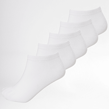 Lot De 5 Paires De Socquettes Jordan Blanc