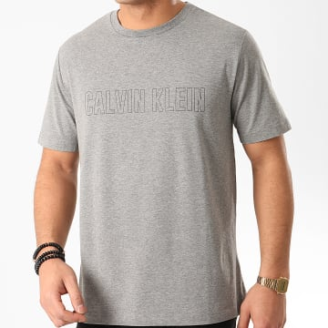 Calvin Klein - Tee Shirt K299 Gris Chiné