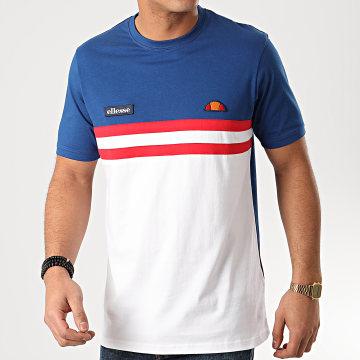 Tee Shirt Venire SHE08507 Bleu Roi Blanc