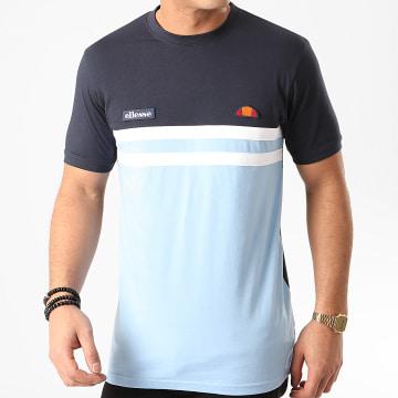 Tee Shirt Venire SHE08507 Bleu Clair Bleu Marine