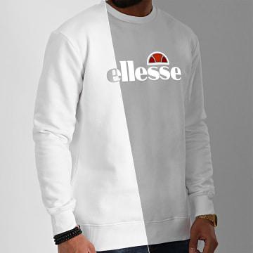 Ellesse - Sweat Crewneck Pizzoli SXE08324 Blanc Réfléchissant