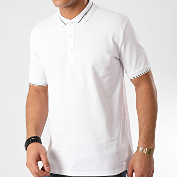 HUGO by Hugo Boss - Polo Manches Courtes Demoso 202 Blanc