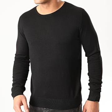 Indicode Jeans - Pull Neuilly-Sur-Seine Noir