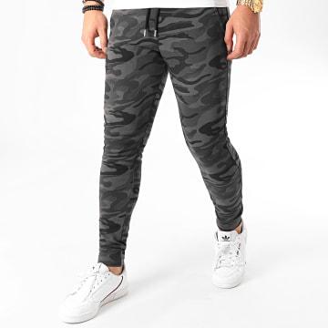 LBO - Pantalon Jogging Fit 941 Camouflage Noir