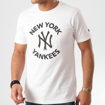 New Era - Tee Shirt MLB New York Yankees 12195420 Blanc