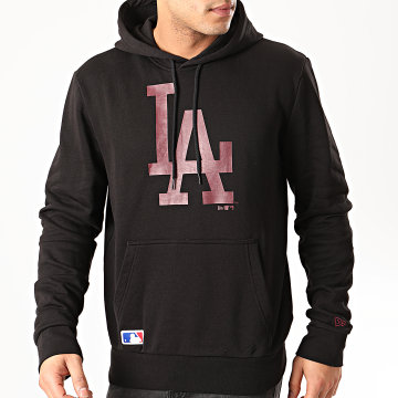 New Era - Sweat Capuche MLB Los Angeles Dodgers Seasonal Team Logo 12195424 Noir