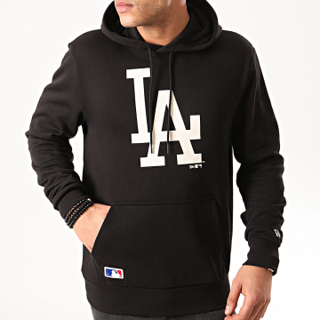New Era - Sweat Capuche MLB Seasonal Team Logo Los Angeles Dodgers 12165425 Noir