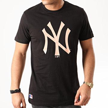 New Era - Tee Shirt MLB Seasonal Team Logo New York Yankees 12195429 Noir