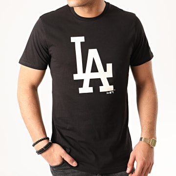 New Era - Tee Shirt MLB Seasonal Team Logo Los Angeles Dodgers 12195432 Noir