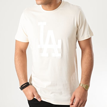 New Era - Tee Shirt MLB Seasonal Team Logo Los Angeles Dodgers 12195433 Beige