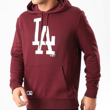 New Era - Sweat Capuche MLB Los Angeles Dodgers Seasonal Team Logo 12195435 Bordeaux
