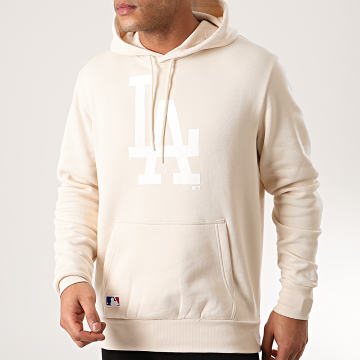 New Era - Sweat Capuche MLB Seasonal Team Logo Los Angeles Dodgers 12195436 Beige