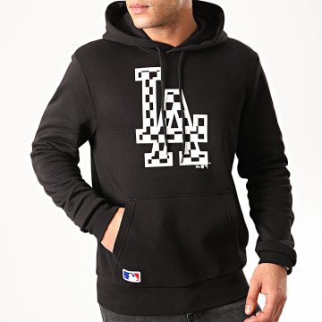 New Era - Sweat Capuche MLB Infill Logo Los Angeles Dodgers 12195443 Noir