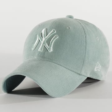Casquette Femme 9Forty Pastel Corduroy 12285201 New York Yankees Turquoise