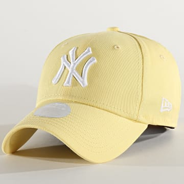 Casquette Femme 9Forty League Essential 12285206 New York Yankees Jaune