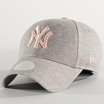 Casquette Femme 940 Jersey Essential 12285212 Los New York Yankees Gris Clair Chiné