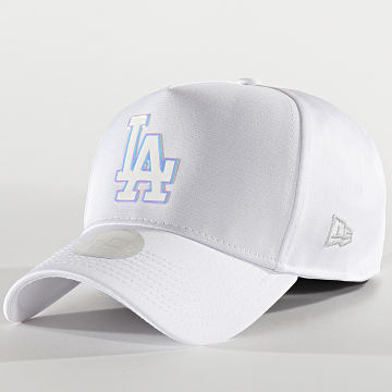 New Era - Casquette Femme Iridescent 12285218 Los Angeles Dodgers Blanc Iridescent