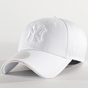 New Era - Casquette Femme 9Forty Iridescent 12285421 New York Yankees Blanc Iridescent