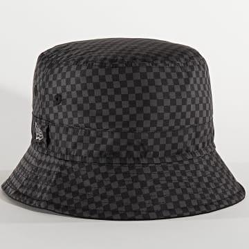 Bob US Checkered Noir Gris