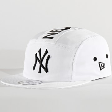 New Era - Casquette 5 Panel Camper 12285342 New York Yankees Blanc
