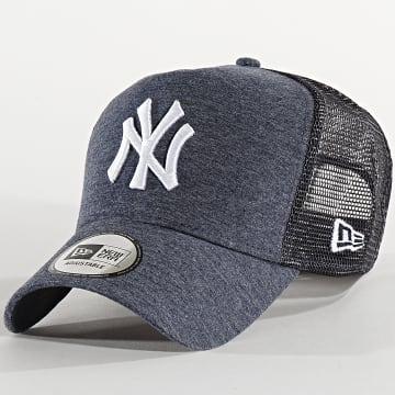 Casquette Trucker Jersey Essential 12285421 New York Yankees Bleu Marine Chiné