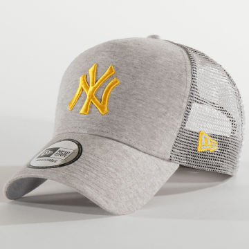 New Era - Casquette Trucker Jersey Essential 12285422 New York Yankees Gris Chiné