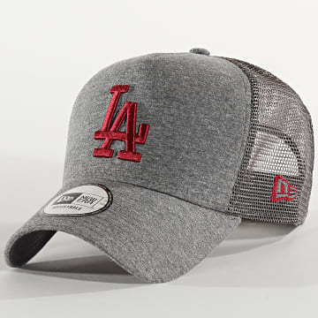 Casquette Trucker Jersey Essential 12285423 Los Angeles Dodgers Gris Anthracite Chiné