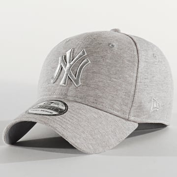 New Era - Casquette Fitted 39Thirty Jersey Essential 12285431 New York Yankees Gris Chiné