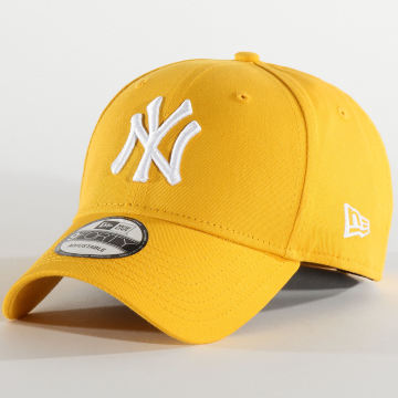 New Era - Casquette 9Forty Essential 12285483 New York Yankees Jaune