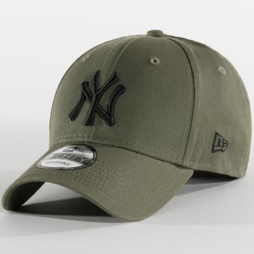 New Era - Casquette 9Forty League Essential 12285484 New York Yankees Vert Kaki