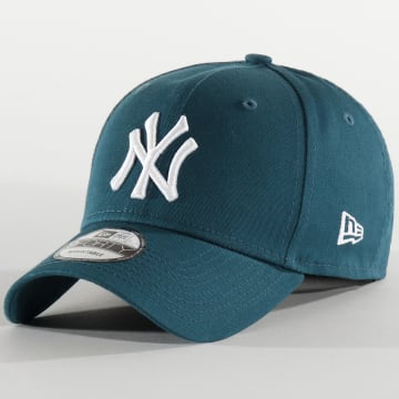 Casquette 9Forty Essential 12285487 New York Yankees Turquoise