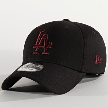 New Era - Casquette Fitted 39Thirty Essential 12285509 Los Angeles Dodgers Noir