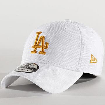 New Era - Casquette 9Forty Diamond Era 12285518 Los Angeles Dodgers Blanc