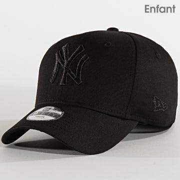 New Era - Casquette Enfant 9Fifty Tonal Black Stretch Snap 12301105 New York Yankees Noir