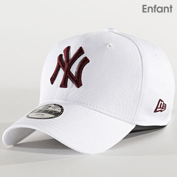 Casquette Enfant 9Forty LEague Essential 12301143 New York Yankees Blanc